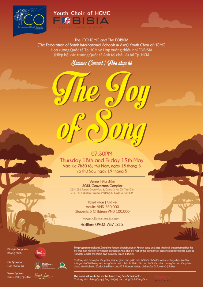 The Joy of Song poster
